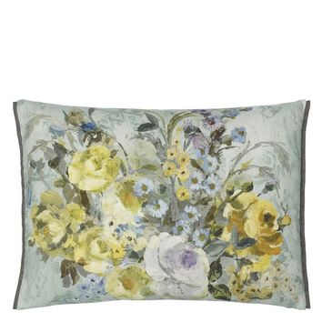 Designers Guild Veronese Duck Egg Decorative Pillow