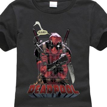 Comfortable Brand Women'S Marvel Comics Deadpool Gonna Die New X-Women Superhero Film Women'S T Shirt Popular Tops 32837326126