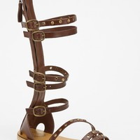Ecote Zeppelin Tall Caged Sandal - Urban Outfitters