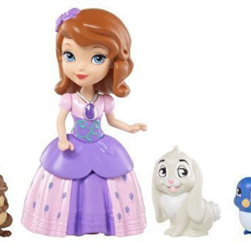 Disney Sofia The First Sofia and Animal Friends Fashion Doll Playset Children, Kids, Game
