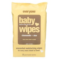 Eo Baby Wipes - Unscented - Case Of 1 - 30 Count