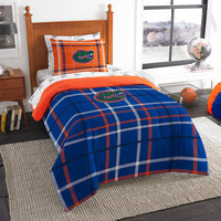 Florida Gators NCAA Twin Comforter Bed in a Bag (Soft & Cozy) (64in x 86in)