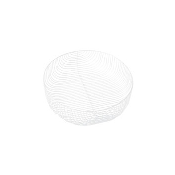 22 Bend Basket - White
