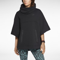 Nike Tech Fleece Women's Poncho - Black