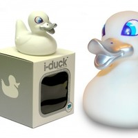 iDuck / Rubber Duck / Water Activated Light Up Colour Changing LED / Locomocean from Locomocean Ltd | Made By Locomocean Ltd | £6.99 | BOUF