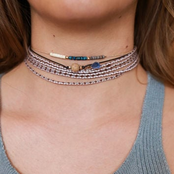 Sunset Pier Choker Set