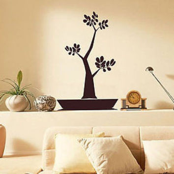 Money Tree Floral Decor Tree sticker Wall Decal Art Vinyl Sticker tr566