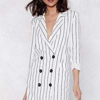 Trail Blazer Striped Dress