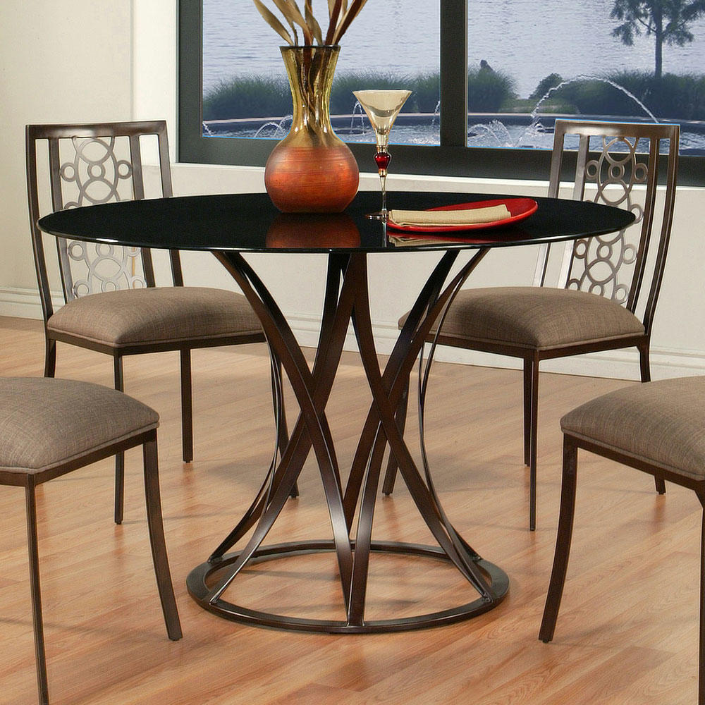 Valetijn Dining Table Coffee Brown Iron From Dynamic Home