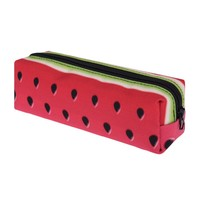 Cool Watermelon 3D Printed Zippered Pencil Cosmetic Bag