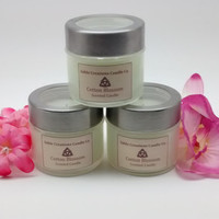 2oz Cotton Blossom, Scented Candles, Soy Candle, Cotton Scented, Fresh Linen, Aromatherapy Candles, Highly Scented, Scented Soy Candle