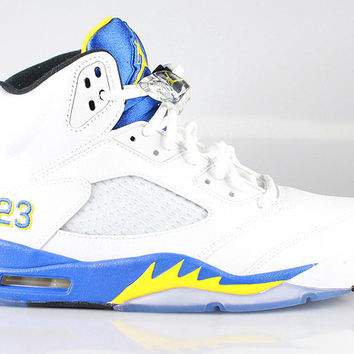 Air Jordan Men's Retro 5 V Laney 2013