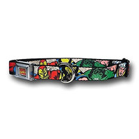 Marvel Comics - Avengers Superheroes Closer-Up Dog Collar - Small