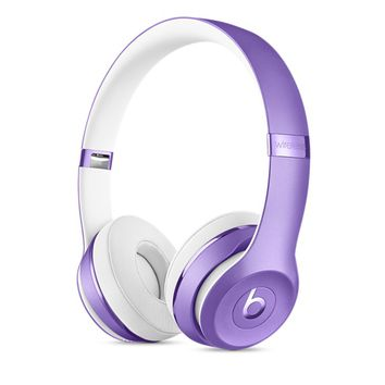 Beats Solo3 Wireless On-Ear Headphones – Ultra Violet Collection