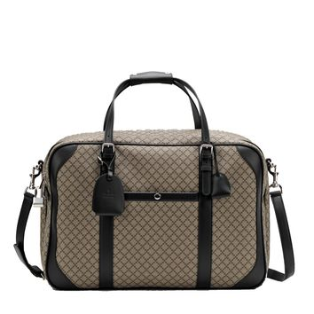 Gucci Diamante Carry-On Luggage Beige/Black 267905