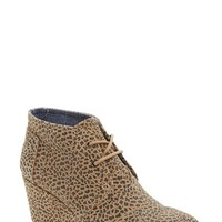 TOMS 'Desert -Cheetah' Wedge Bootie (Women) | Nordstrom