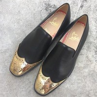 Cl Christian Louboutin Loafer Style #2347 Sneakers Fashion Shoes - Best Deal Online