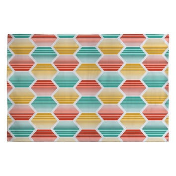 Heather Dutton Honey Jive Summerlicious Woven Rug