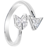 925 Sterling Silver CZ Arrow Toe Ring | Body Candy Body Jewelry