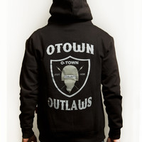 O-town™ - Authentic Streetwear — OTOWN OUTLAWS ZIP HOODIE