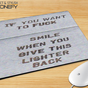 Zippo Lighter Mousepad Mouse Pad|iPhonefy