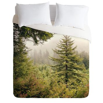 Catherine McDonald Into The Mist Duvet Cover