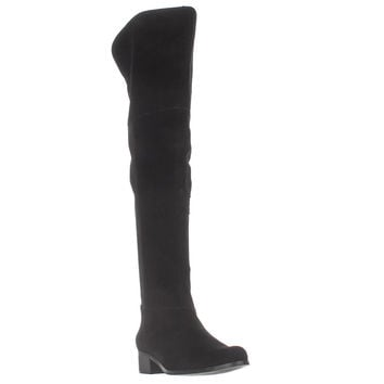 Charles by Charles David Giza Over-The-Knee Boots, Black, 8.5 US