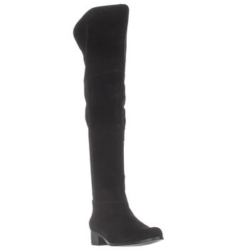 Charles by Charles David Giza Over-The-Knee Boots, Black, 7 US