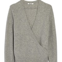 Madewell Faux Wrap Pullover Sweater | Nordstrom