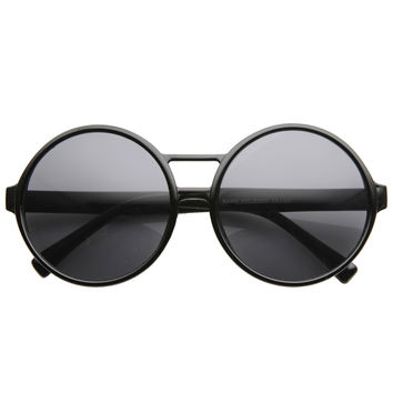 Super Round Oversize Fashion Sunglasses 8636