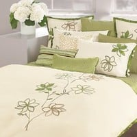 DKNY Floral Valley Full/Queen Duvet Cover