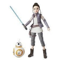 Star Wars Forces of Destiny Adventure Figure Friends Rey and BB8