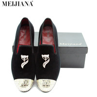 MeiJiaNa 2017 New Men shoes loafers Handsome comfortable Brand men Casual shoes