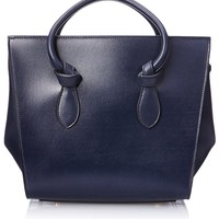 Celine Women's Mini Tie Bag, Navy