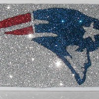 Glitter Sparkly New England Patriots 4/4G or 5 Otterbox Commuter Phone Case