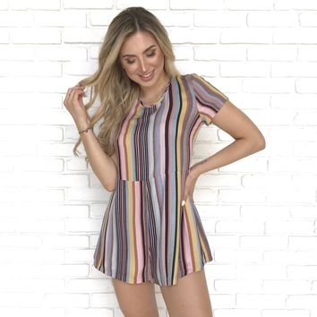 523af1510a5 All Kinds of Fun Stripe Romper