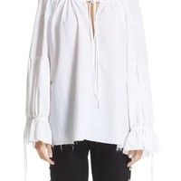 Marques'Almeida Gathered Pirate Top | Nordstrom