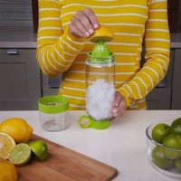 Zing Anything Citrus Zinger Juicer, Green