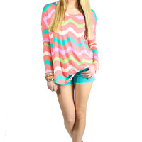 Palm Paradise Top - Pink