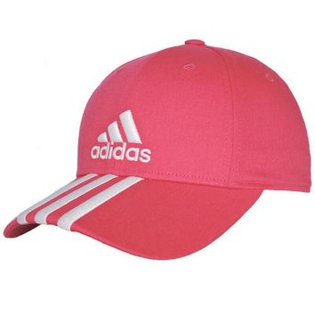 One-nice™ Adidas Women Men Sport Sunhat Embroidery Baseball Cap Hat Pink