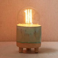 Footed Ceramic Lamp Base - Urban Outfitters