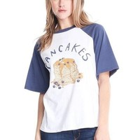 MACEDONIA Pancake Brunch Baseball Tee