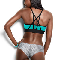 Ultimate Strappy Back Sports Bra - PINK - Victoria's Secret