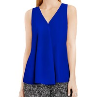VINCE CAMUTODrape Front Sleeveless Top