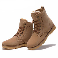 Winter Suede Leather Fashion Boots (UNISEX)