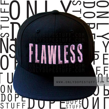Flawless Beyonce Snapback I Woke Up Like This Yonce Surfboard Women Girls Men Boys Unisex Embroidery Embroidered On The Run Tour