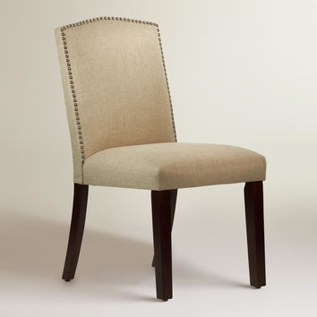 Linen Abbie Dining Chair - World Market