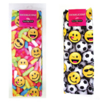 2 Pair of Emoji Knee Socks. One Soccer Emojis & One Sprinkle Emojis!