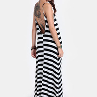 Meet Me in Montauk Striped Maxi Dress