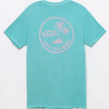 Vans Vintage Mini Palm Teal T-Shirt at PacSun.com